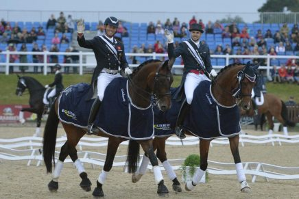 Hester and Hutton 436x291 - Olympic Dressage Stars Shine at Bolesworth International
