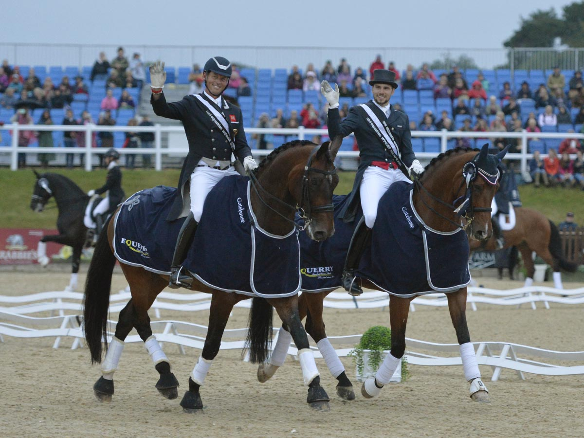 Hester and Hutton - Olympic Dressage Stars Shine at Bolesworth International