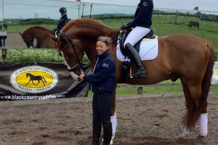 Sophie and Izzy 436x291 - TV Debut for Young Dressage Rider