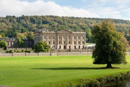 chatsworth house 436x291 - Unique Chance to Ride Around the Breath-taking Chatsworth Estate