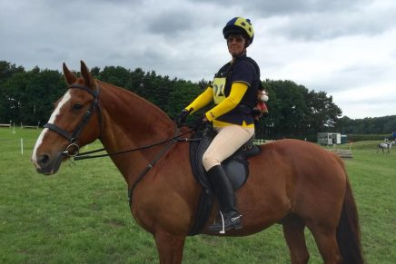 Sheila Rogerson on Rusty ADRC chairwoman 436x291 - Ackworth at Area 4 with Willberry Wonder Pony.