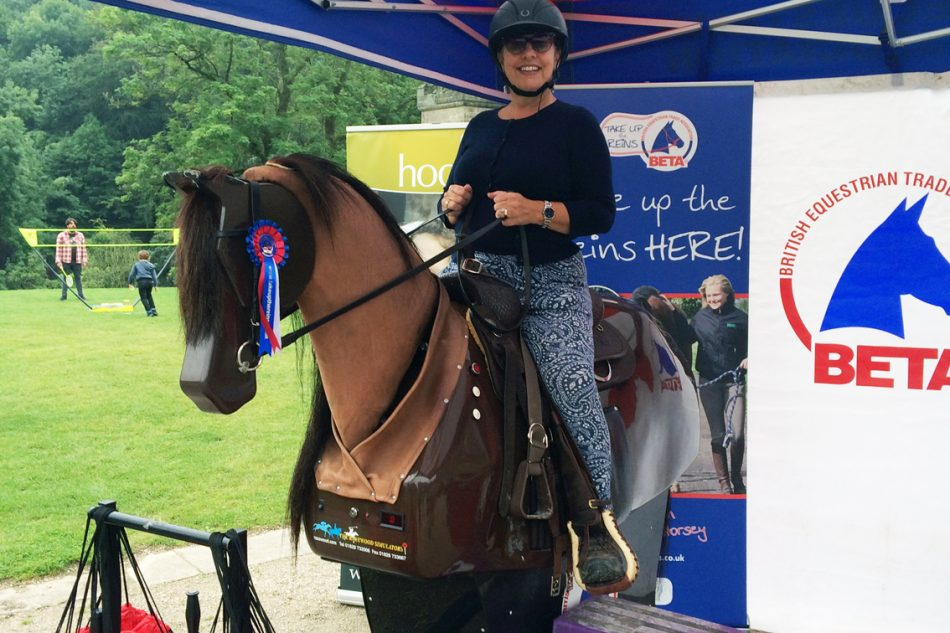 Following in the footsteps of gold medallist Nick Skelton