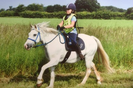 ELLA POMROY REDWINDS MILKYWAY 436x291 - ENDURANCE Riding  – something for all the family!