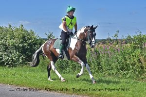 Enduro Claire Mellor winning the TopSpec Pilgrim Ride 300x200 - TopSpec Lindum Spirit 2016 A Great Success