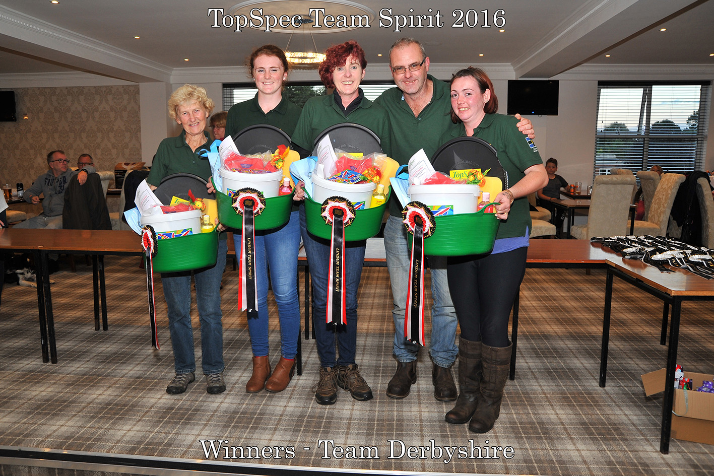 Enduro Team Spirit winners Derbyshire - TopSpec Lindum Spirit 2016 A Great Success