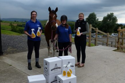 HAPPA 436x291 - Carr & Day & Martin donates fly repellent spray to World Horse Welfare and HAPPA