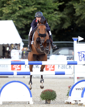 Whitaker J 2 - Jack Whitaker wins Individual Gold at the Pony European Championships