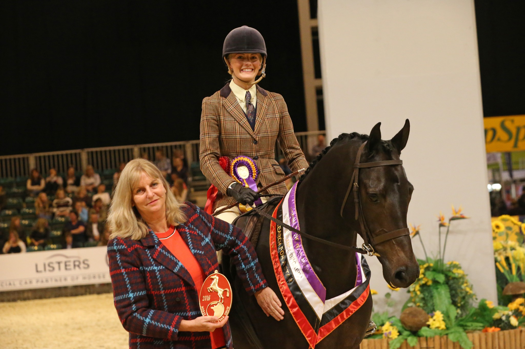 34b SEIB Search for a Star Riding Club Show Horse - Celebrations galore on day one of the SEIB Search for a Star classes