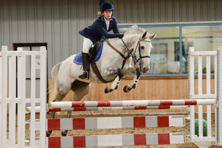 Amelia Cox Diamond Jessica Houghton Hall EC Credit Andy Fountain Photography 436x291 - Lincolnshire's Amelia Cox is Unbeatable in Dodson & Horrell 0.95m National Amateur Second Round at Houghton Hall Equestrian Centre