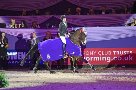 Horse of the Year Show Challenge Cup 436x291 - Another win for Louise Saywell in the Horse of the Year Show Challenge Cup