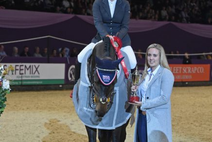 International Show Jumping sponsored by Irish Horse Gateway 1 436x291 - Louise Saywell takes the title in the Irish Horse Gateway sponsored International Showjumping class