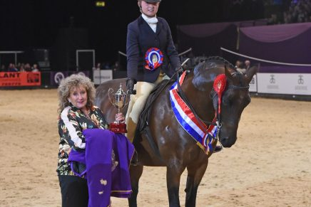 Show Hunter Pony of the Year 436x291 - Wycroft New Dimension takes the Topham Barnes Show Hunter Pony of the Year