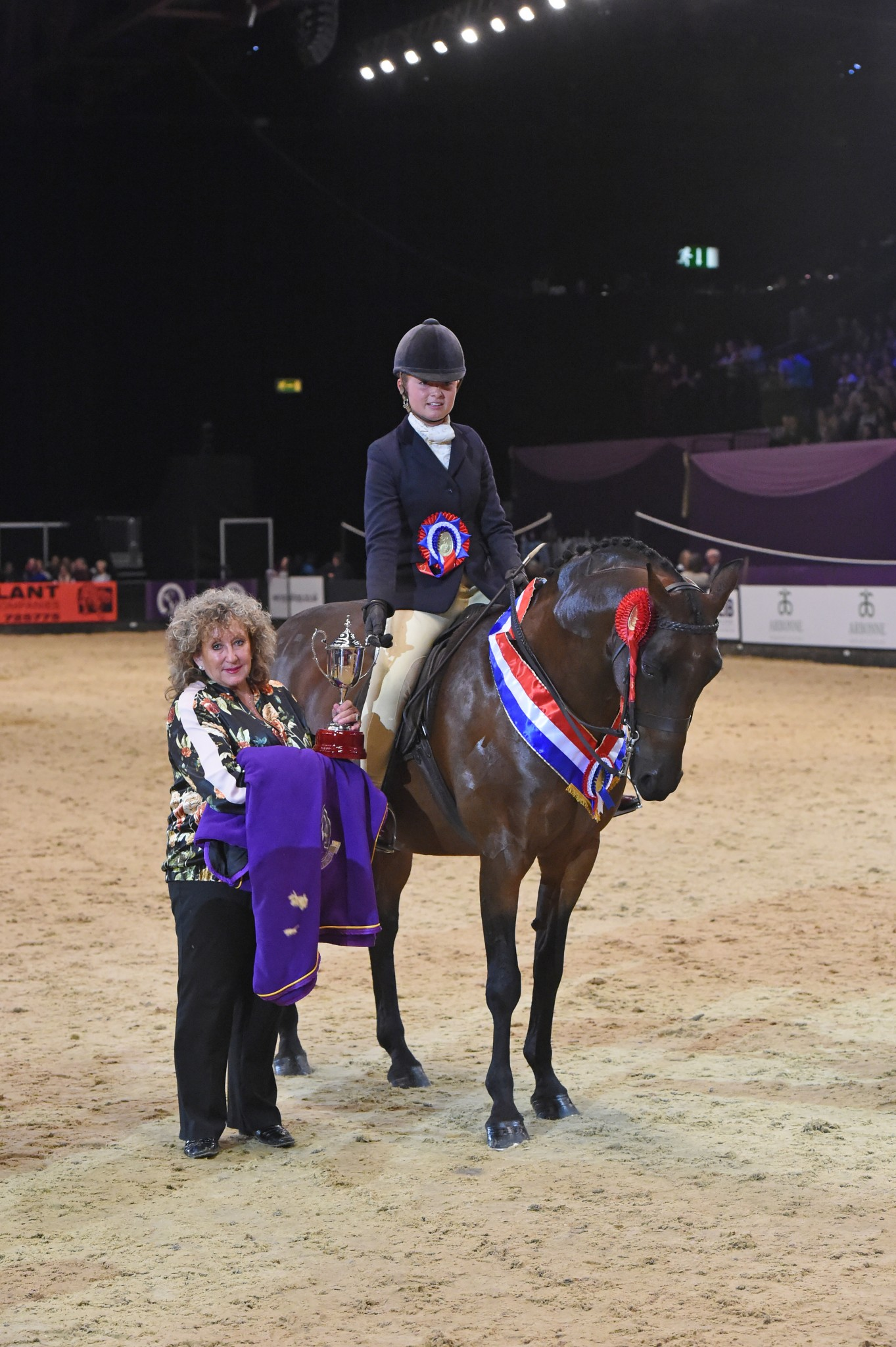 Show Hunter Pony of the Year - Wycroft New Dimension takes the Topham Barnes Show Hunter Pony of the Year