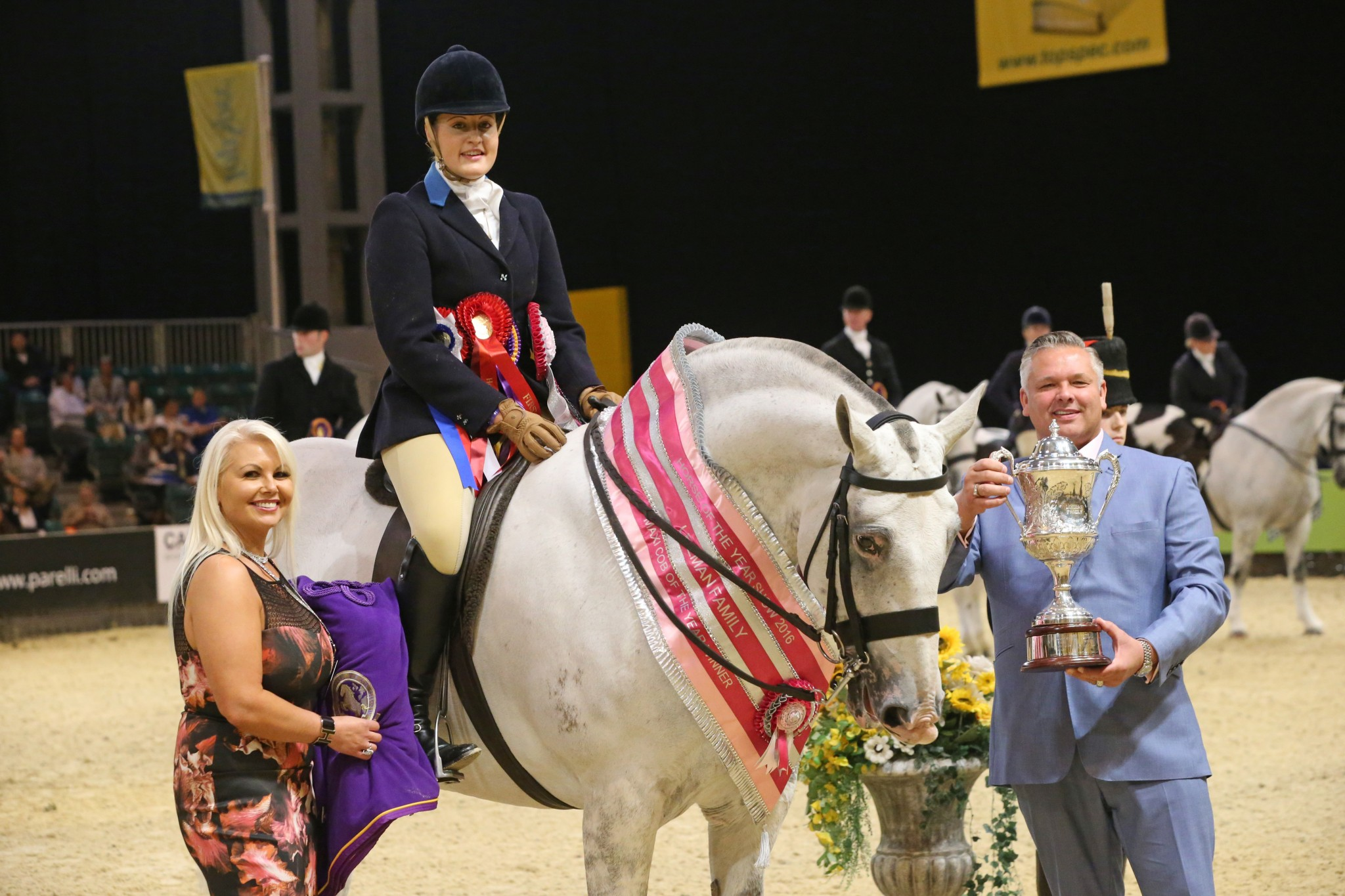 The Leeman Family Maxi Cob of the Year Championship - Colebourne is third to be crowned The Leeman Family Maxi Cob of the Year in six year history