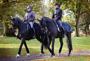 Fiona Bigwood and Atterupgaards Orthilia with Anders Dahl and Selten credit Rose Lewis  360x245 - BACK ON TRACK® sponsor Olympic Dressage Couple Fiona Bigwood and Anders Dahl
