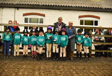 MBP 0534 ZF 3222 28731 1 006 360x245 - Glittering gold and silver medals brought delight to the faces of the children at Caistor Equestrian Centre.