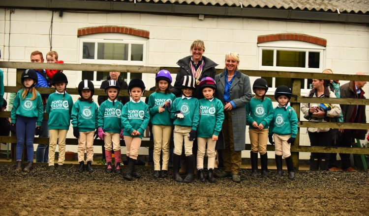 MBP 0534 ZF 3222 28731 1 006 750x440 - Glittering gold and silver medals brought delight to the faces of the children at Caistor Equestrian Centre.
