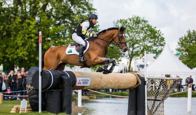 Sam Griffiths competing at Badminton 2015 750x440 - International Eventing Forum 2017 – The Next Generation