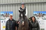 Carl Hester Charlotte Dujardin and Valegro Nina Barbour at the launch 150x100 - Dressage Goes Global at This Year's Equerry Bolesworth International Horse Show
