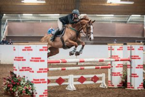 Sarah Winterbottom Katie I South View Equestrian Centre Credit Ciara Doone Rush Photography 300x200 - Derbyshire's Sarah Winterbottom Scoops SEIB Winter Novice Qualifier Win at SouthView Equestrian Centre