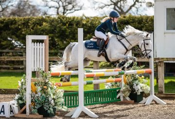 Class 15 11 Years Under Final Winner Tilly Shaw Darosa D Amour CREDIT Ciara Doone Rush 360x245 - Lincolnshire's Tilly Shaw Wins 11 Years and Under Final at the Winter Pony Championships 2017
