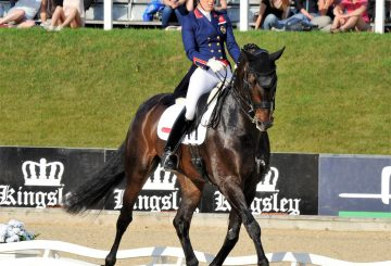 Charlotte Dujardin and Hawtins Delicatov2 360x245 - Charlotte Takes The Honours at Bolesworth
