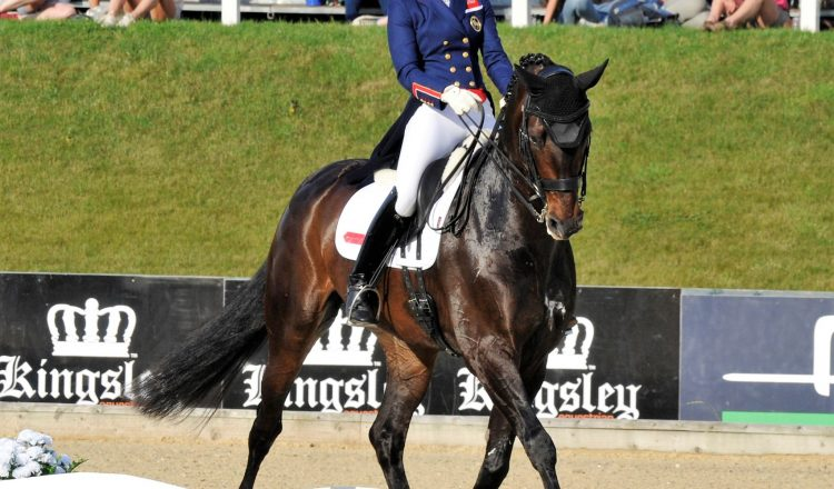 Charlotte Dujardin and Hawtins Delicatov2 750x440 - Charlotte Takes The Honours at Bolesworth