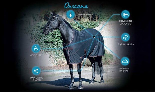 Orscana main - Introducing the Orscana - the first equine health monitor