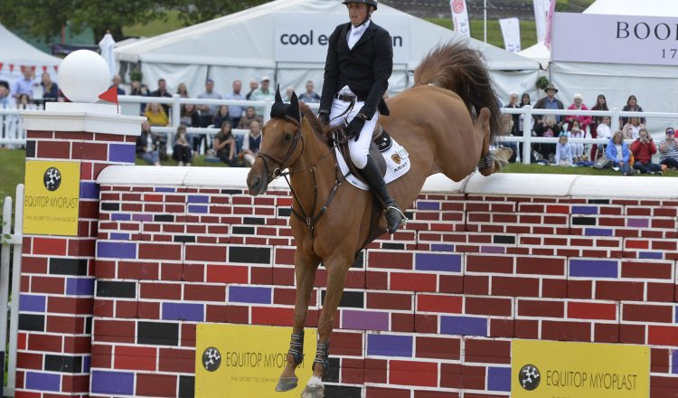 Trevor Breen and Lord Luidam 750x440 - Trevor Breen Heads Bolesworth International Puissance