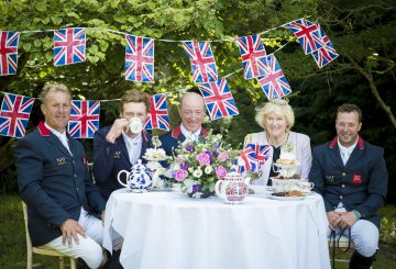 Brits 360x245 - Showjumpers take tea with 'The Queen' at Hickstead