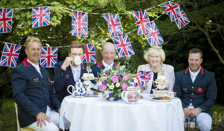 Brits 750x440 - Showjumpers take tea with 'The Queen' at Hickstead