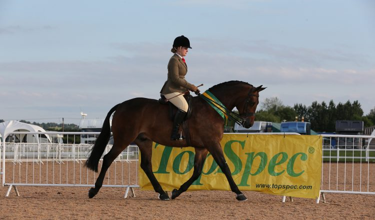 Megan Cookson and Louvaine Rooney 750x440 - Megan Captures TopSpec Supreme Pretty Polly Championship for Second Time