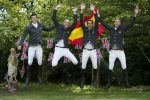 spanish 150x100 - Showjumpers take tea with 'The Queen' at Hickstead