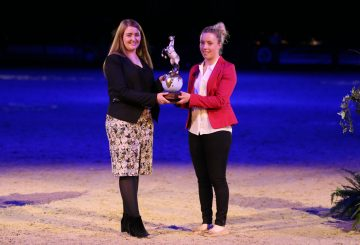 HOYS Sophie JP E4145 1 360x245 - Sophie Wells Awarded Horse of the Year Show Equestrian of the Year