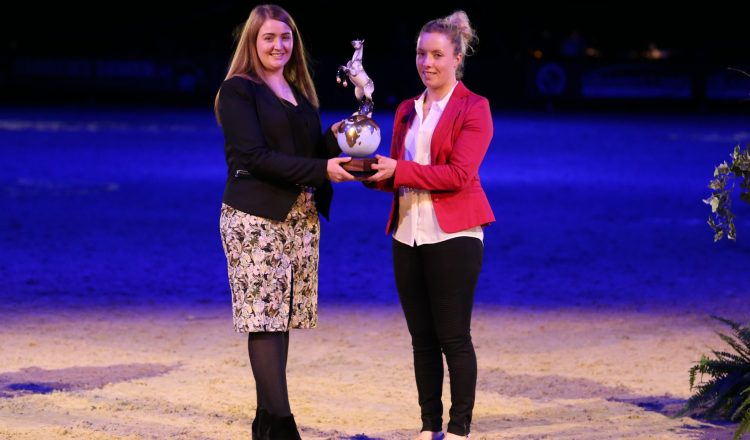 HOYS Sophie JP E4145 1 750x440 - Sophie Wells Awarded Horse of the Year Show Equestrian of the Year