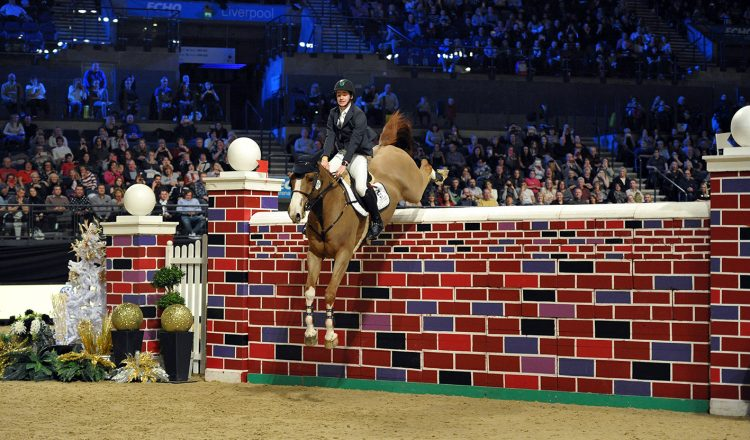 Puissance1 750x440 - World's Leading Show Jumpers Head to Liverpool International Horse Show