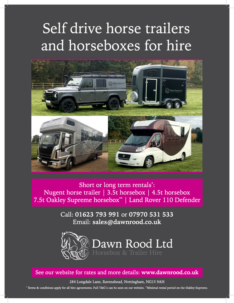Dawn Rood Advert Equestrian Life 210x276 with bleed1024 1 - It's all white with Fuller Fillies' new Puppi!