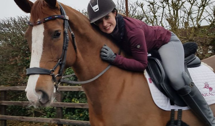 Natasha on Diva 750x440 - Natasha Baker finds horse of her dreams after year long search