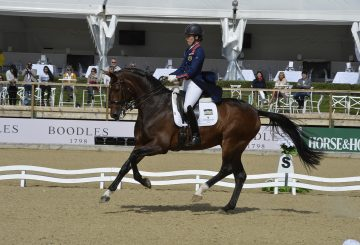 Charlotte Dujardin in action at Bolesworth International 360x245 - Bolesworth International Hosts Prestigious Dressage Championship Viewing Trials