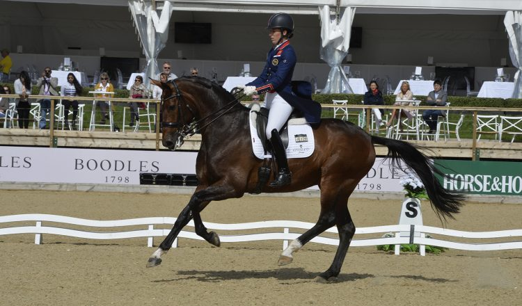 Charlotte Dujardin in action at Bolesworth International 750x440 - Bolesworth International Hosts Prestigious Dressage Championship Viewing Trials