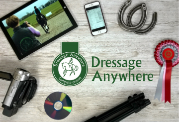 What is online dressage with logo FB 360x245 - New BD Associated Championships announced for 2018!