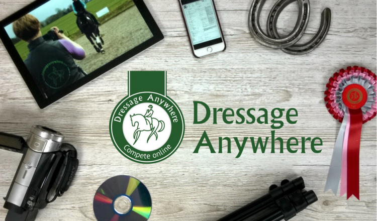 What is online dressage with logo FB 750x440 - New BD Associated Championships announced for 2018!