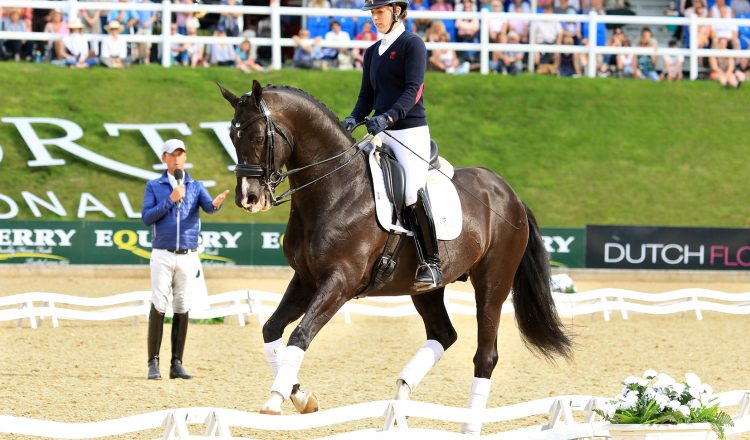 Charlotte Dujardin on Uthopia Carl Hester Demo 750x440 - Bolesworth International - Top 10 Moments!