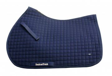 2138 Saddle Pad No.I Jumping Navy 360x245 - New Navy Saddle Pad No.1 From Back On Track®
