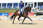 Charlotte Dujardin and Mount St John Freestyle in winning mode 150x100 - Six of the Best for Charlotte at Bolesworth