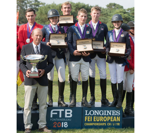 NAF edited 500x440 - Team NAF Young Riders crowned European Champions