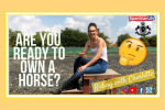 fb post 150x100 - Are you ready to own a horse? This week's vlog from Riding with Charlotte