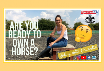 fb post 360x245 - Are you ready to own a horse? This week's vlog from Riding with Charlotte
