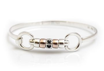roller bangle 360x245 - Hiho Silver launches Exclusive Love Hearts Roller Bead