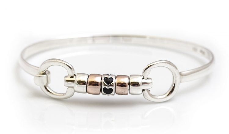 roller bangle 750x440 - Hiho Silver launches Exclusive Love Hearts Roller Bead